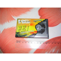 Fitas Cassette Emitec K7 Virgem Basf Ferro Extra Nóva ! ! !
