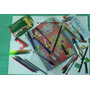 Kit Escolar Nº 3 - Cartinha Do Papai Noel - 35 Itens