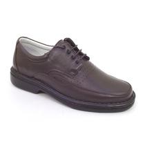 Sapatos Masculinos Tamanho Grande 45 A 47 Pelica Antistress