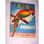 Album Figurinhas Antigo Tropico Serie Animais