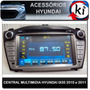 Central Multimidia Hyundai Ix35 2010 E 2011 - Tv Digital