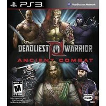 Jogo Americano Deadliest Warrior Ancient Combat Para Ps3