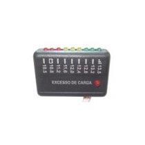 Voltimetro Medidor Bateria Veiculo 10 Leds 12v