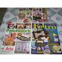Kit Com 4 Revistas Artesanato-fuxico-feltro-frete Grátis