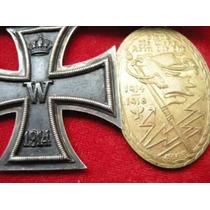 1ª Guerra Cruz De Ferro De 2ª Classe E Kiffhauser