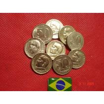 Brasil: Linda Série De 50 Centavos: Presidente Dutra.