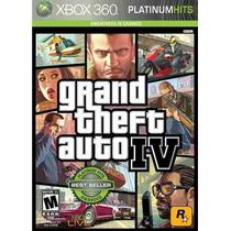 Gta 4 Grand Theft Auto Iv 4 Xbox 360 Original Frete Grátis