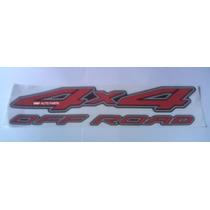 Adesivo 4x4 Off Road Frontier - Mmf Auto Parts.