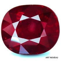Rubi Vermelho Sangue De 8,57cts Natural 11x10x7,7mm