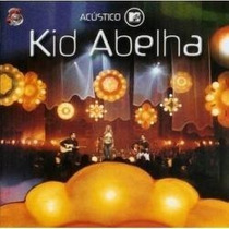 Cd - Kid Abelha - Acústico Mtv - Lacrado