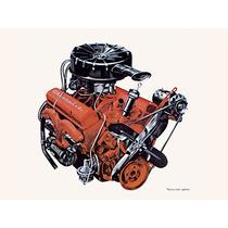 Eixo Comando Valvulas Chevrolet Gm V8 Motor 262 Até 350