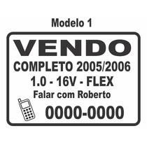 Adesivos Para Carro Vende-se / Vendo / Troco - Frete Grátis