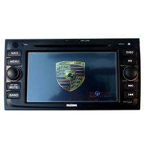 Central Multimídia Dvd Gps Porsche Cayene Usb Touch Tv Ipod