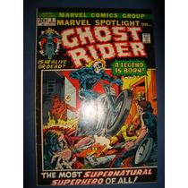 Marvel Spotlight Nº05 - 1ª Aparição Motoqueiro Fantasma