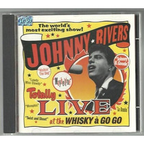 Cd Johnny Rivers Rock Pop Guitar Garage Anos 60 Ao Vivo