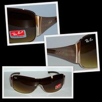 Óculos 3321 Dourado Lente Marrom Degradê Frete Gratis !!!!