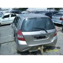 Honda Fit Sucata Motor 1.4 Cambio Mecanico Com Abs