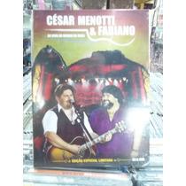 Cesar Menotti E Fabiano Ao Vivo Morro Urca Dvd Original Lacr