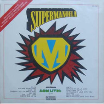 Supermanoela Lp Trilha Internacional Da Novela - 1974