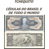 Brasil - 500 Cruzeiros - C044 - S/fe - Cédula - Rara