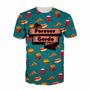 Camisa Comida - Camiseta Fit Gordo Dieta Hamburguer Pizza