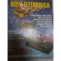 Nova Eletronica Nº46 - 1980 - Leds Para Sua Arvore De Natal