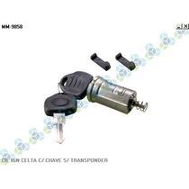 Cilindro Ignição Celta C/ Chave S/ Transponder