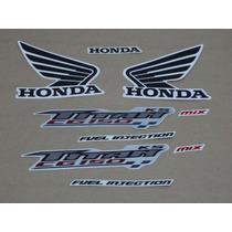 Kit Adesivos Honda Cg Titan 150 Ks 2009 Cinza - Decalx