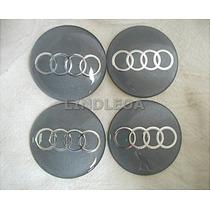 65mm Emblemas Centro Rodas Audi A3 A4 A6 A8 Q7 Tt Quattro S3