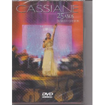 Cassiane - 25 Anos De Muito Louvor - Raridade -dvd- Mk Music
