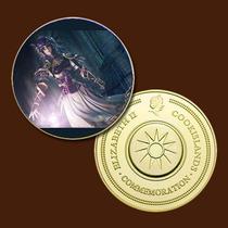 9970a - Valquíria - Mit. Nórdica - Banhada A Ouro 24 K - 40