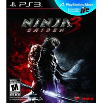Ninja Gaiden 3 Ps3 Lacrado De Fabrica Pronta Entrega