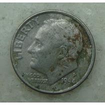 837 - Usa One Dime Liberty 1994, Letra P - Tocha 18mm