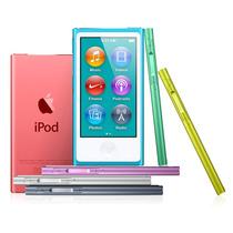 Capa Ipod Nano 7 Silicone Acrilico + Pelicula Gratis