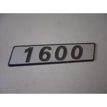Emblema 1600 Paralama Uno Prêmio Elba Fiorino Linha Fiat