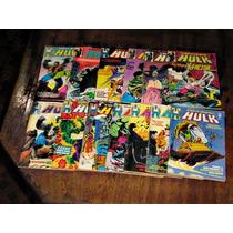 O Incrível Hulk Editora Abril Ano:1990 Lote Com 20 Edições