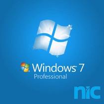 Chave/licença Windows 7 - Professional Ativação Online
