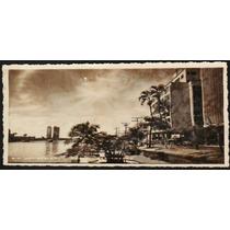 Cartão Postal Antigo Recife Pernambuco Rio Capibaribe