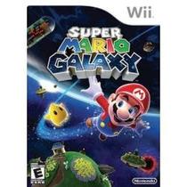 Super Mario Galaxy Wii Jogo Americano Lacrado,envio Imediato