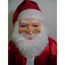 Máscara Emborrachada Para O Papai Noel Usar No Natal
