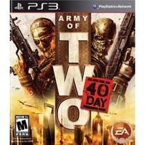 Army Of Two : The 40th Day Ps3 Lacrado, Envio Sedex A Cobrar