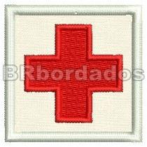 Eml029 Cruz Vermelha Enfermagem 2ª Guerra Patch Br Bordados