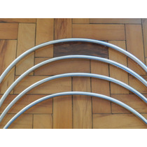 Friso Do Vão De Roda Santana E Quantum 84/90 Em Aluminio
