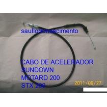 Peças Sundown Motard 200 Stx 200 Cabo De Acelerador