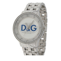 D&g Dolce & Gabbana Relogio Unissex Com Strass Dw0133 Neymar
