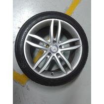 Roda Estepe Mercedes C180 C200 Original 12 13 14 Com Pneu