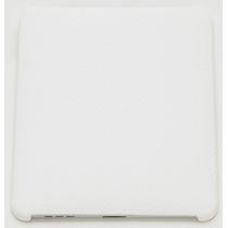 Capa Case P/ Apple Ipad De Plastico Rigido C/ Textura Branco