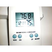 Termo-higrômetro + Termômetro Digital ( Importado )