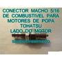 Conector De Combustivel Motor De Popa Tohatsu 15 Hp Lado Mot