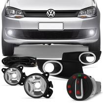 Kit Farol Milha Volkswagen Fox 2014 2015 Neblina Auxiliar